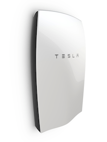 Last year, Elon Musk unveiled the Tesla Powerwall, a solar battery for the home designed to help overcome the renewable intermittency issue. (Photo Credit: Tesla