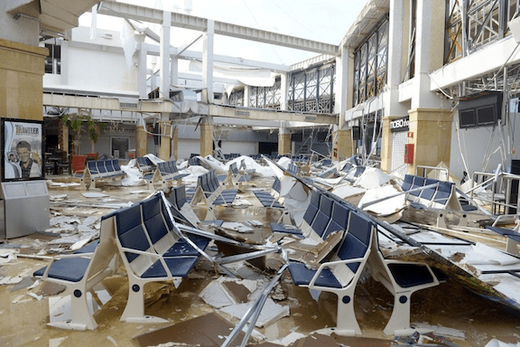 Cabo San Lucas airport after Odile. (Photo via Mission Blue)