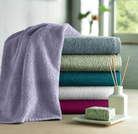 Under the Canopy towels are made from 100% GOTS certified organic cotton. (Photo Credit: Under the Canopy)