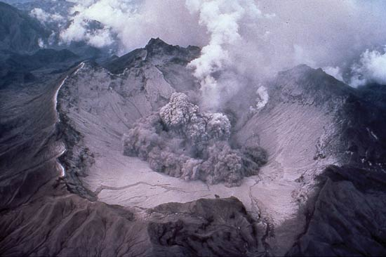 Aftermath of the 1991 Mt. Pinatubo eruption