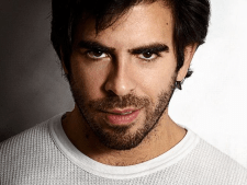 Director Eli Roth. (Photo via Gorestruly)