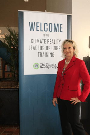 Debbie Dooley at the Climate Reality Leadership Training seminar in Miami. (Photo Credit: Juli Schultz)