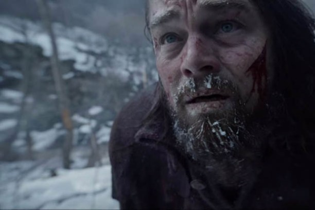 Leonardo DiCaprio in 'The Revenant.' (Image is the property of 20th Century Fox.)