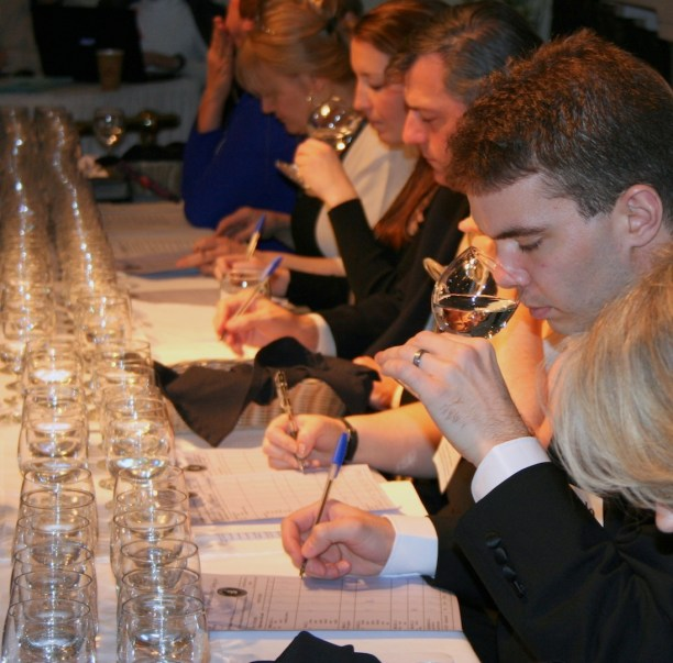 The Judges evaluate water in multiple categories.