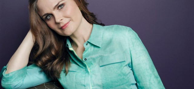 Actor Emily DeSchanel. (Photo via TreePeople)