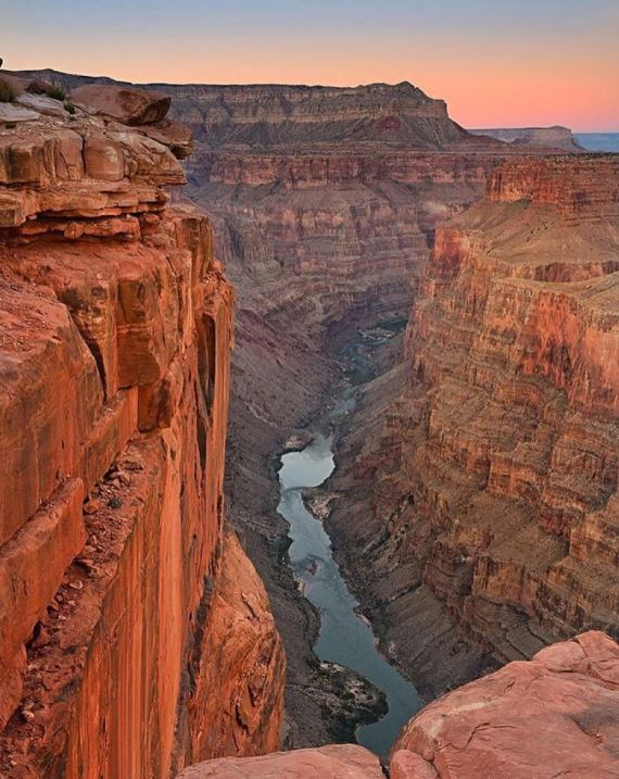 Toroweap Overlook at Grand Canyon National Park, Arizona. Photo credit: David Shield