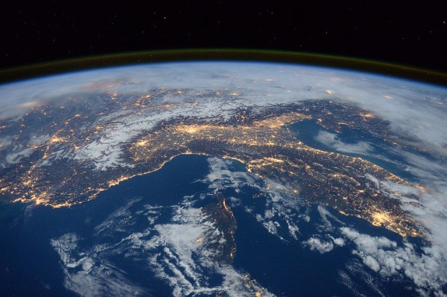 Earth, seen from the International Space Station. (Photo Credit: Pixabay)