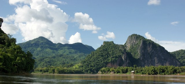 View of the Mekong River at Luang Prabang in Laos, 2009. (Photo Credit: Allie Caulfield / Flickr)