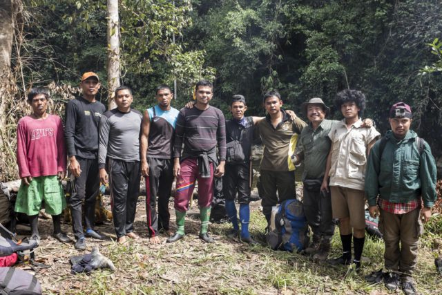 FKL rangers in the Leusser Ecosystem in Indonesia. (Photo: Nanang Sujana / Planet Experts)
