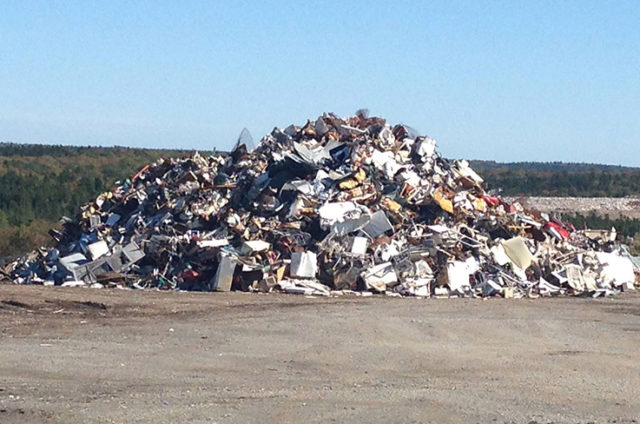 The Lincolnville landfill. (Photo: Enrich / FUTURE PERFECT)