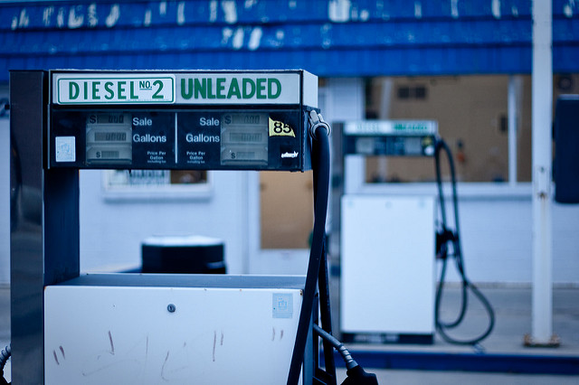 Unleaded gas, courtesy of the EPA. (Photo: Cliff Johnson / Flickr)