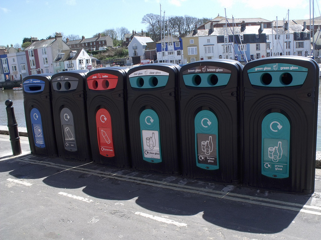 Not all communities have the resources and infrastructure to encourage recycling. (Photo: Elliot Brown / Flickr)