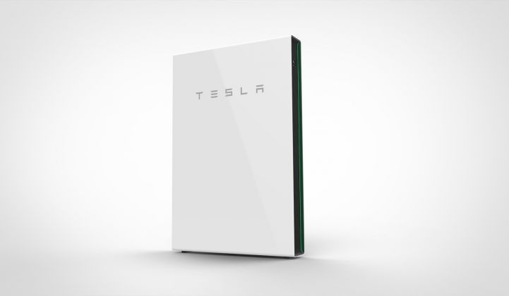 Tesla's home battery, the Powerwall, is an example of domestic-scale innovation.