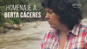 Honduran activist Berta Caceres was killed. Photo via