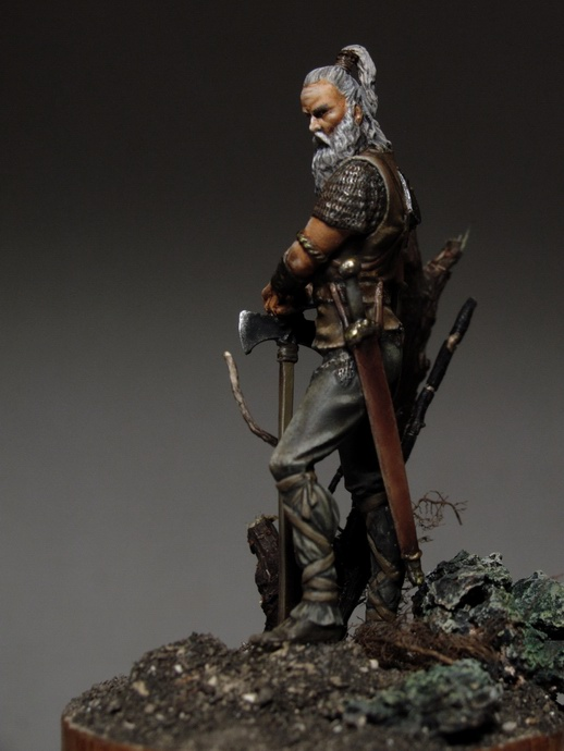 Completed Germanic Warrior 1 AC PlanetFigure