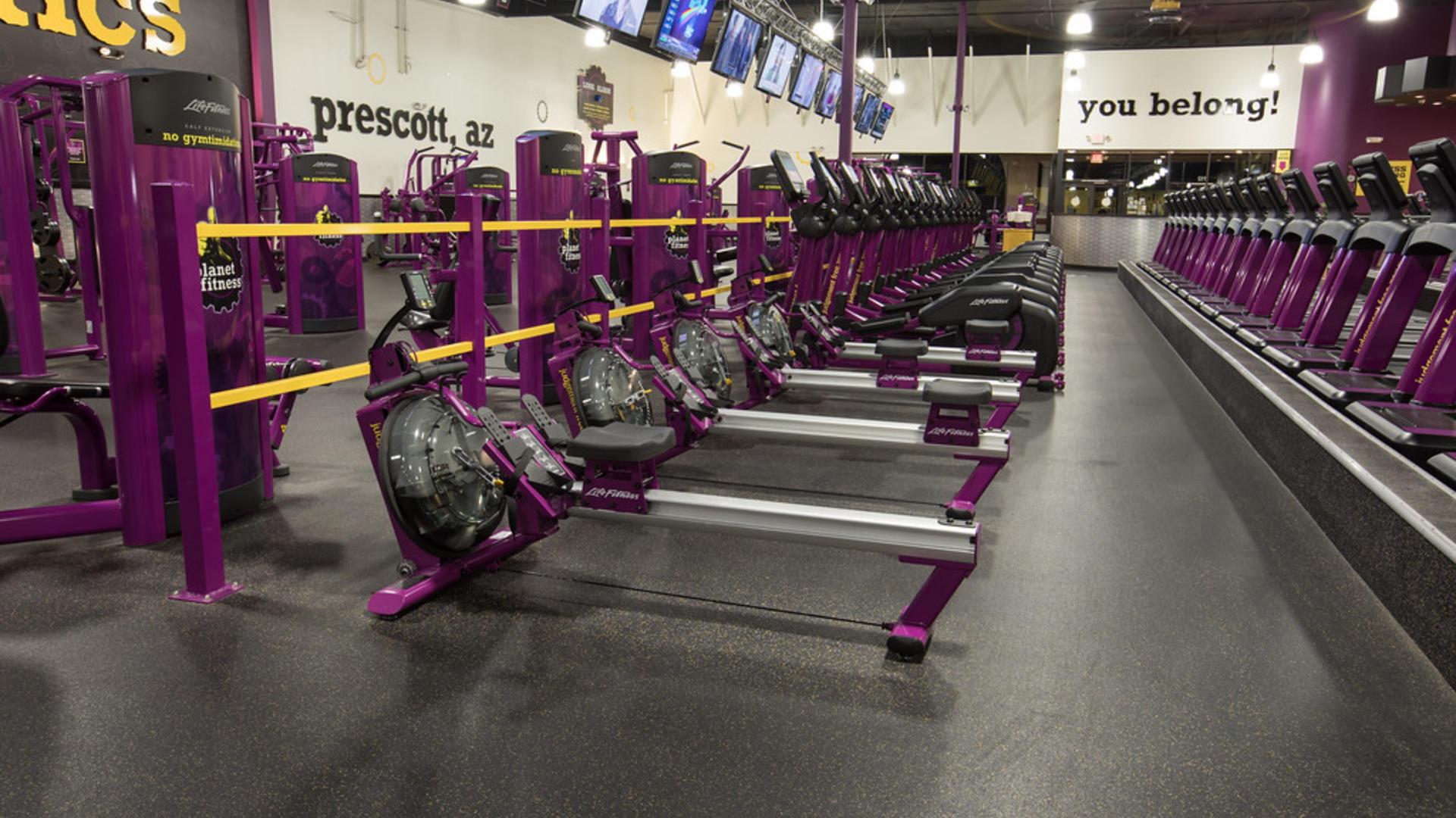 Gym In Prescott AZ 1841 E State Hwy 69 Ste 112 Planet Fitness