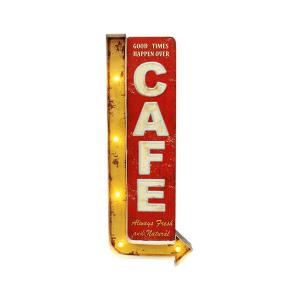 cafe good time insegna luminosa