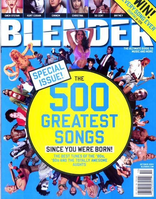 On The Blender Top 500