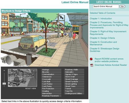 Seattle's Web Interface