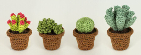 succulent collection 1 crochet patterns by planetjune