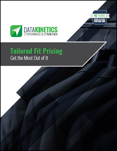 eBook Tailored Fit Pricing