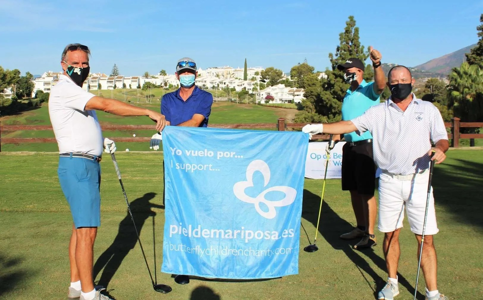 The Aloha Golf Event raised over 17,000 euros