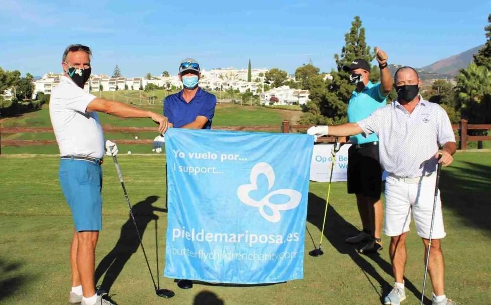 The Aloha Golf Event raised over 17,000 euros