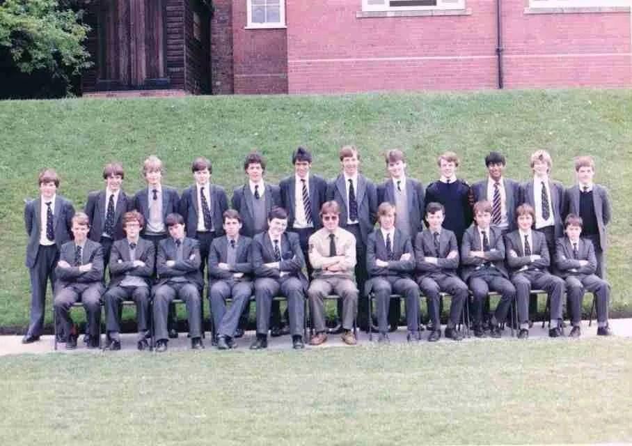 Class photo 1984
