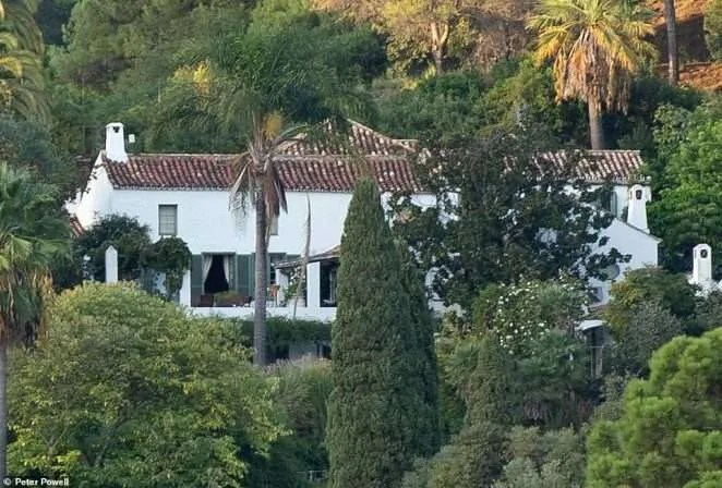 Lord Goldsmith's Marbella Home