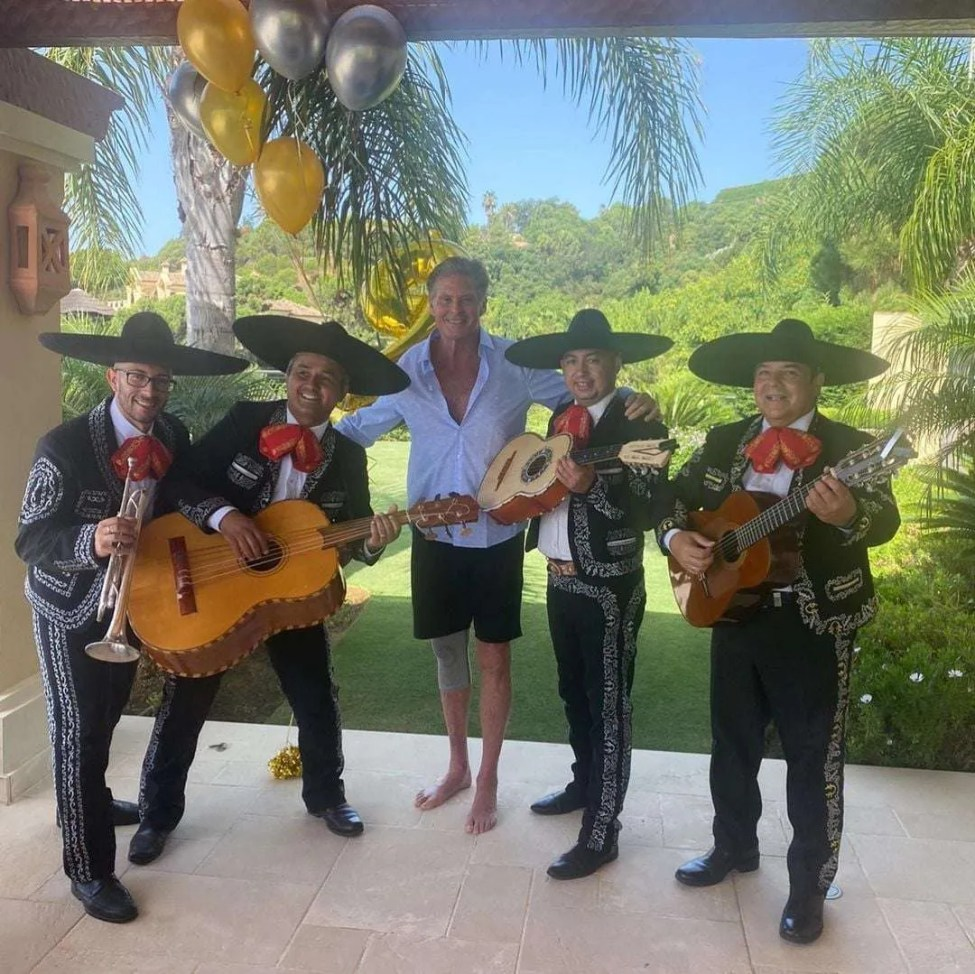 Celebrations included a surprise visit from a Mariachi band!