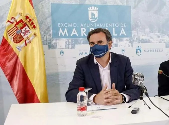 Felix Romero at the Press conference