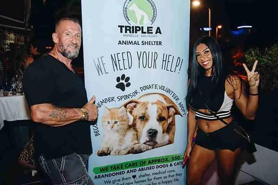 La Sala hosts Triple A event with celeb support