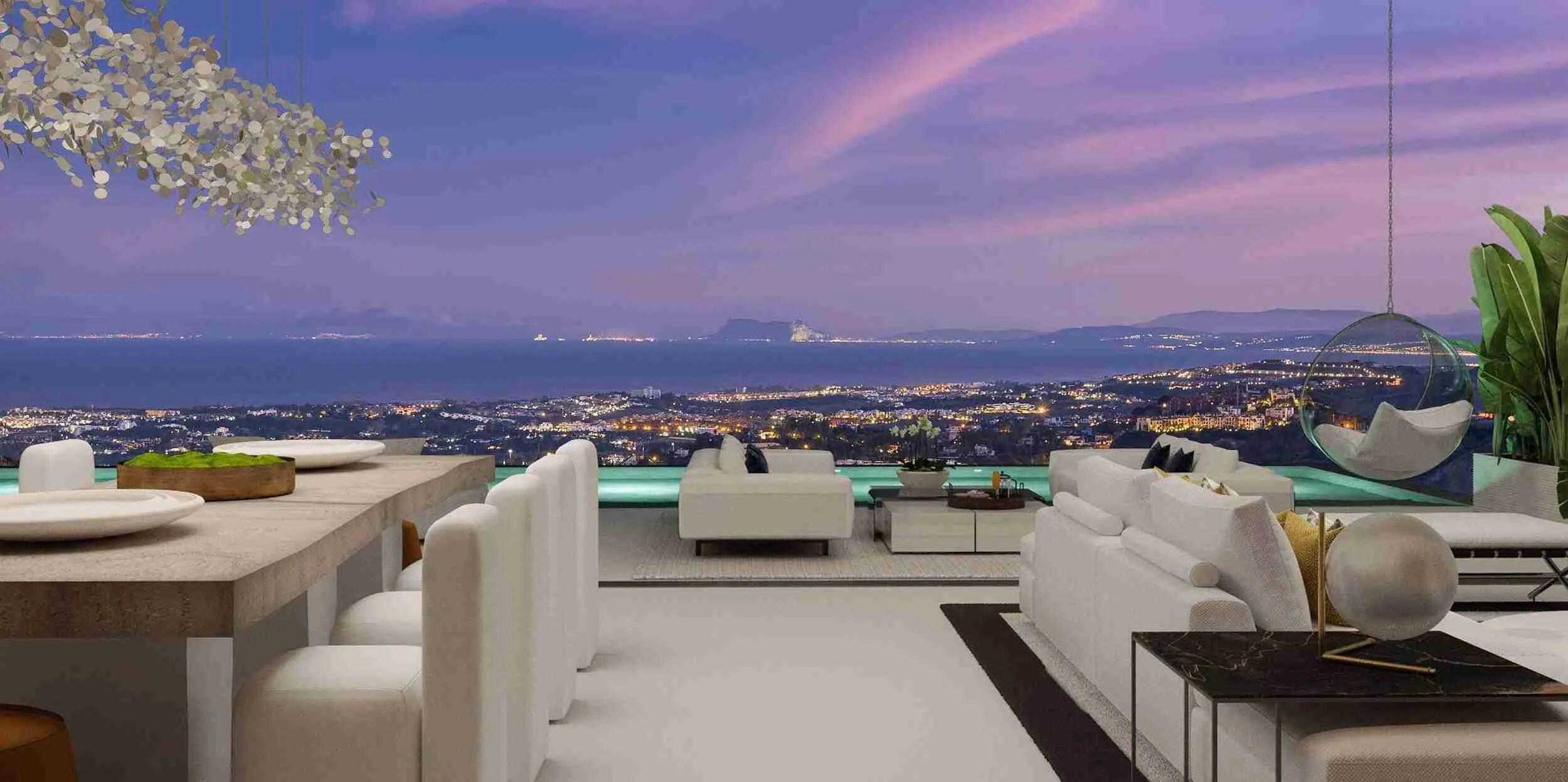 Stunning views from Vista Lago