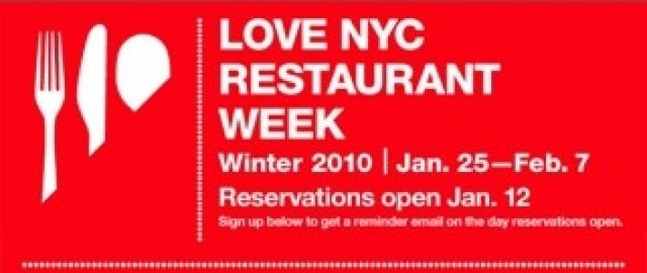 NYC Restaurant Week 2010 Du 25 Janvier Au 7 Fvrier Le