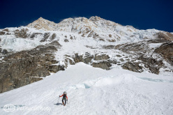 Ueli Steck and the first ascent of the direct line up the South Face of Annapurna.