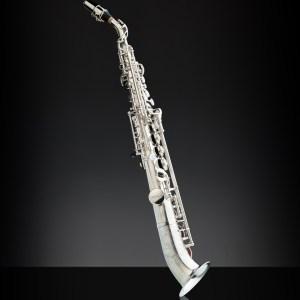 Rampone Cazzani Sopransaxophon halb gebogen