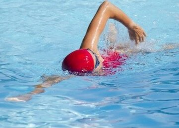Cardio exercise like swimming is brilliant to stave off anxiety attacks
