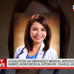 Proposed law on emergency medical services to be named after MRT hero