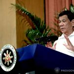 Duterte requests Congress to extend on-going martial law for one more year