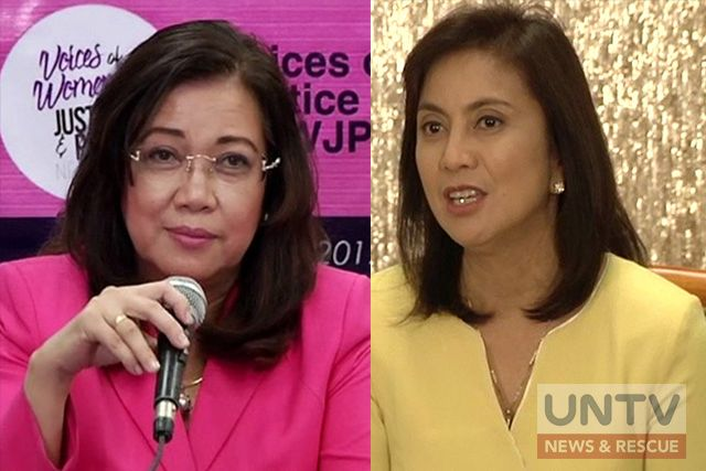 Robredo backs Sereno: 'I will do everything in my power to right this wrong'