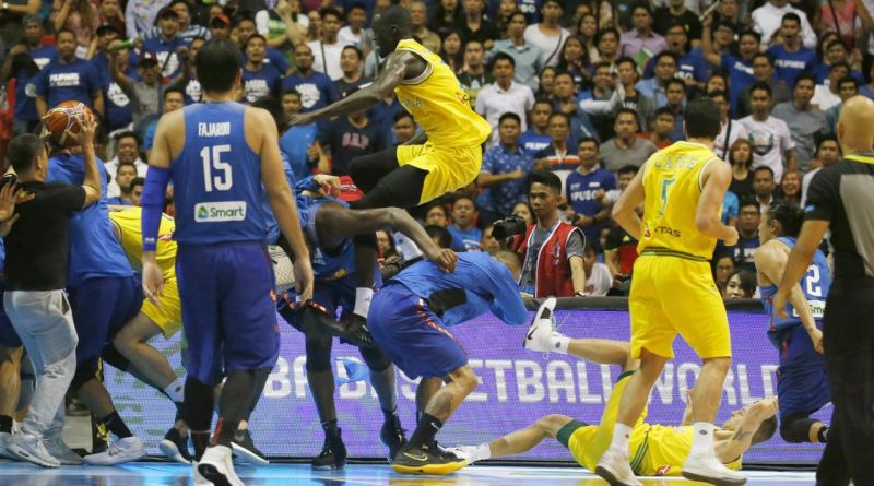 FIBA bans players, coaches for basketball brawl in Manila