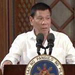 Duterte berates over a hundred errant cops on live TV