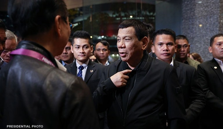 Duterte skips ASEAN summit events