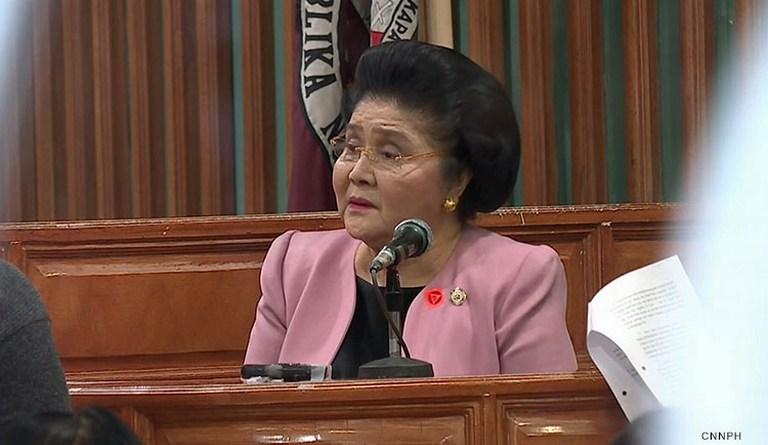Imelda Marcos temporarily free as Sandiganbayan decides on her appeal for post-conviction remedies
