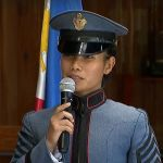 Female Ilocos native tops PMA Graduating batch of 2019