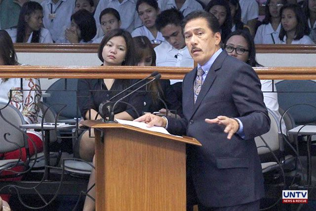 Sotto pushes for longer jail term for perjury