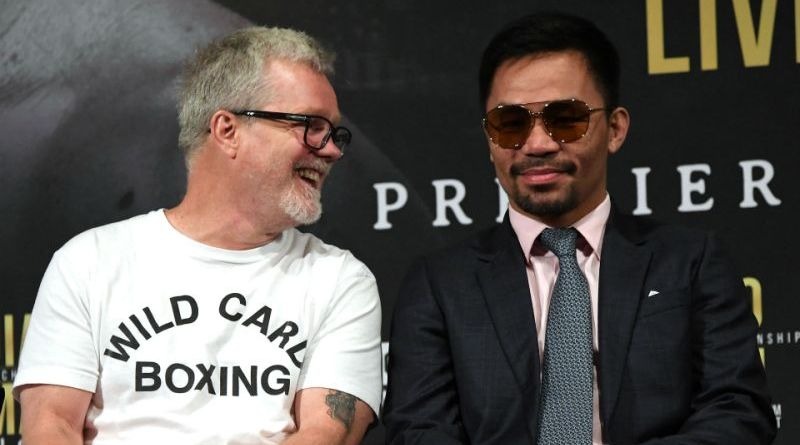 Freddie Roach on why the old Manny Pacquiao is back: 'His pay per view numbers sucked'