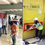 Marikina completes road clean-up ahead of 60-day deadline; QC clears 80 barangays so far