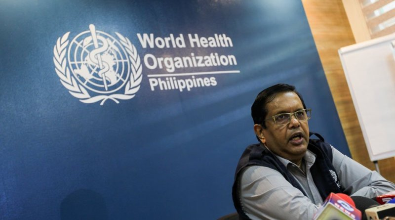 WHO says slow rise in PH's COVID-19 cases 'worrying,' suggests expanded testing, contact tracing