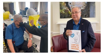 AMBASSADOR LAGDAMEO GETS VACCINATED, URGES FILIPINOS IN THE UK AND IRELAND TO BE IMMUNIZED